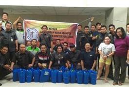 Aksi Berbagi Kasih Lingkungan Maria Asumpta 2 Apartemen SPV