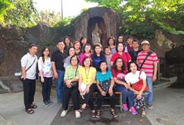 Umat Lingkungan St. Agatha Ziarah 9 Goa seputar Jakarta – 13 Juni 2018