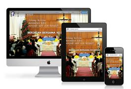 Mobile Friendly Website Baru Gereja Bosco