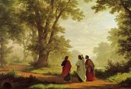 Spiritualitas Kitab Suci berjalan bersama Yesus ke Emaus (EJ) - setiap Rabu mulai tanggal 18 Juli pukul 19.30 atau setiap Jumat mulai tanggal 20 Juli pukul 19.30
