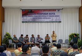 Dialog dan Sarasehan Forum Pemimpin Kota Jakarta Utara