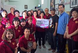 Bakti Sosial Yayasan Atmabrata.