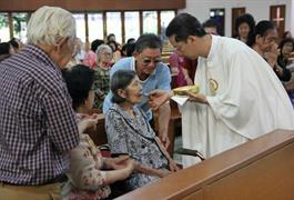 Misa Perayaan Paskah Kelompok Lanjut Usia Bosco (KLUB)