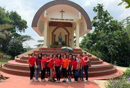 Ibu Ibu Paroki Ziarek ke Bumi Maria Sareng Psra Rasul Sukaraja, Bogor