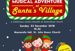 Musical Adventure at Santa's Village - Minggu, 23 Desember 2018 pukul 19.30