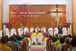 Perayaan Syukur HUT ke-14 Paroki Santo Yohanes Bosco