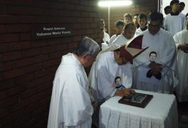 Kapel Adorasi untuk HUT Gereja St. Yohanes Bosco ke 16