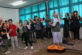 Rekoleksi Akhir Calon Baptis Paskah 2018
