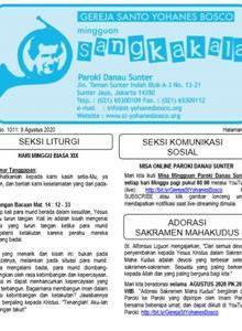 Sangkakala 1011<br> 9 Aug 2020