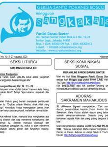 Sangkakala 1013<br> 23 Aug 2020