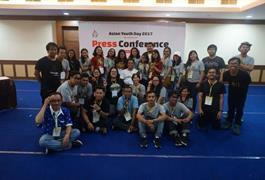 Ucapan terima kasihku untuk Asian Youth Day 2017!