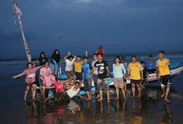 Outing Karyawan Gereja ke Pangandaran - Ciamis, Jawa Barat