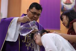 Pendaftaran Calon Katekumen Baptis Paskah 2020 untuk Anak, Remaja dan Dewasa telah dibuka
