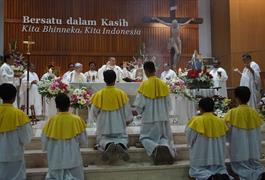 Tiga Cinta Don Bosco: Ekaristi, Bunda Maria, dan Sri Paus