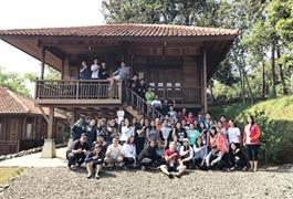 Outing Wilayah OMK St. Yoakim, Sta. Anna dan St. FX - Leadership, Diversity, Regeneration.
