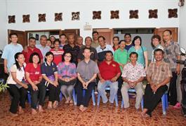 Kunjungan Pastor Paroki dalam Rangka Dialog dengan Pengurus dan Umat Wilayah St. Servasius