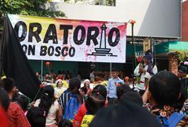 Oratorio Don Bosco dibuka
