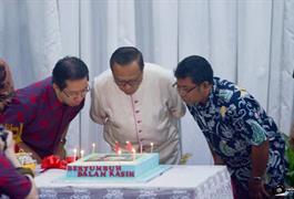 Suasana Kegembiraan HUT ke-14 Paroki Santo Yohanes Bosco