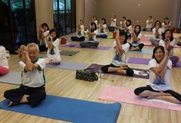 Semangat Yoga memulai tahun 2018