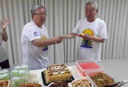 Perayaan Ulang Tahun P. Chito bersama Yoga Bosco